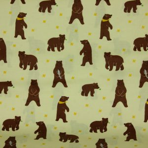 Laminated Cotton – Grizzly Bear