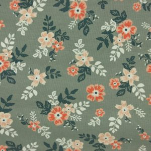 10oz. Waxed Cotton Canvas – Winter Blush