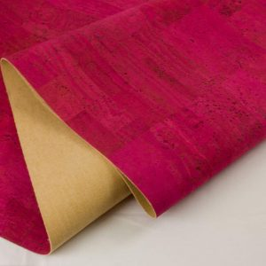 Pink – Surface Cork Fabric