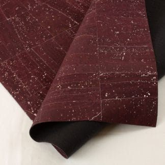 Surface Cork Fabric – Purple Silver