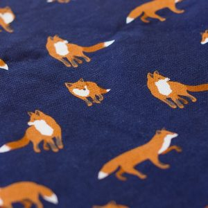 10oz. Waxed Cotton Canvas – Summer Fox