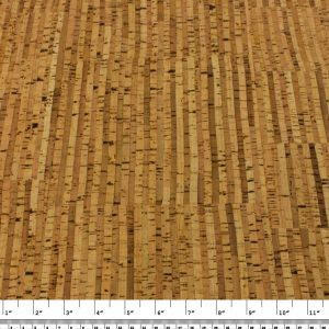 Stripes Natural – Cork Fabric