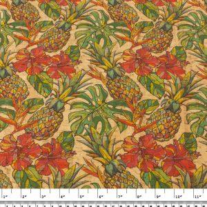 Pineapple – Cork Fabric