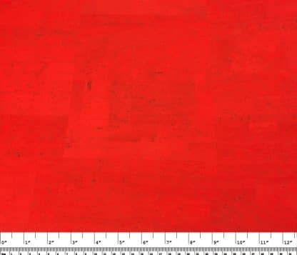 Surface Cork Fabric – Red Candy