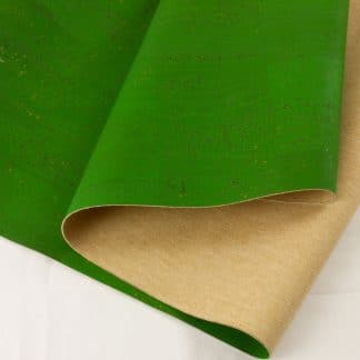 Surface Cork Fabric – Grass Green