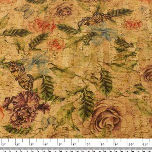 Rose Garden – Cork Fabric