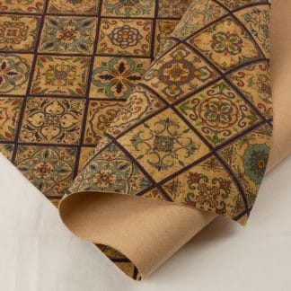Printed Cork Fabric – Valencia