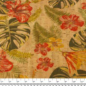 Hibiscus – Cork Fabric
