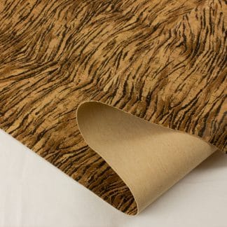 Printed Cork Fabric – Tiger Stripe
