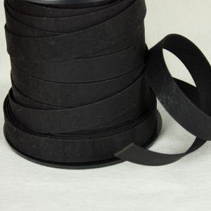No Sew Cork Strap 24mm – Black