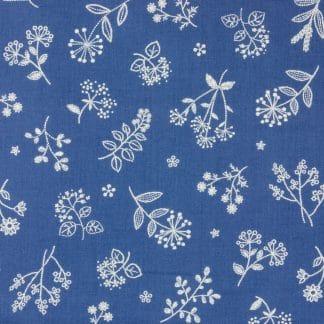 Japanese Prints – Tanpopo Dark Blue