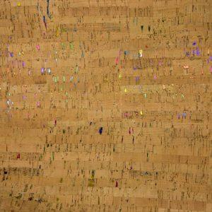 Rainbow Fleck – Cork Fabric