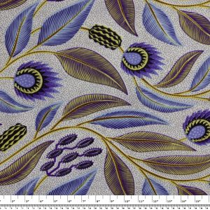 African Wax Print Fabric – Feathers & Flowers