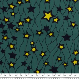 African Wax Print Fabric – Stars