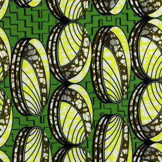 African Wax Print Fabric – Coins