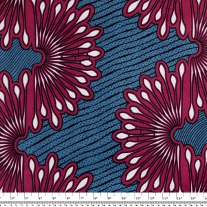 African Wax Print Fabric – Swirls