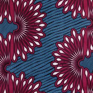 African Wax Print Fabric – Swirls