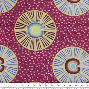 African Wax Print Fabric – Circles & Dots