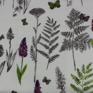 French Fabric – Oxalis
