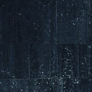 Navy Silver – Surface Cork Fabric