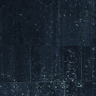 Surface Cork Fabric – Navy Silver