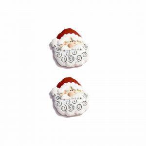 Seasonal – Buttons Santa Face