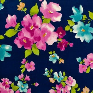 Oxford – Watercolour Floral – Blue
