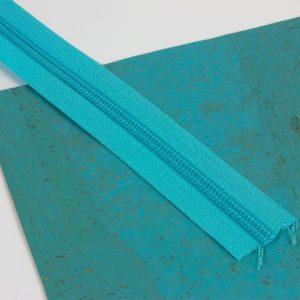 YKK Zipper Ocean Blue