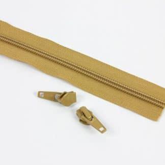 Zips - YKK Zipper Natural