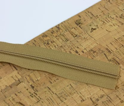 YKK Zipper Natural