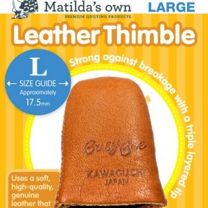 Accessories – Leather Thimble – Large
