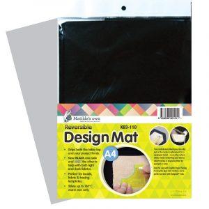 Accessories – Design Mat Black – A4 size