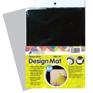 Accessories – Design Mat Black – A4 size