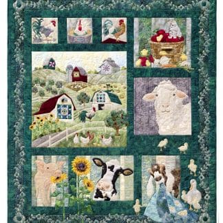 McKenna Ryan – And On That Farm Complete Applique Pattern Set