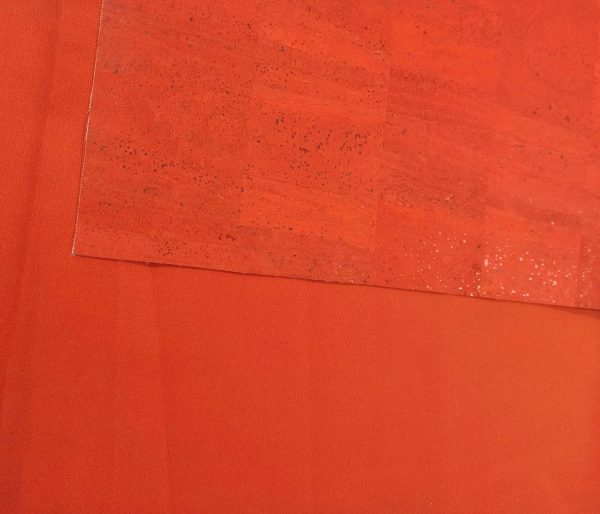 Oxford Cotton Canvas – Burnt Orange