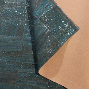 Blue Silver – Surface Cork Fabric