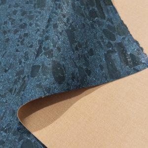 Organic Blue – Cork Fabric