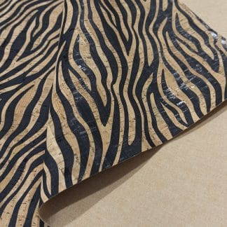 Zebra Pattern – Cork Fabric