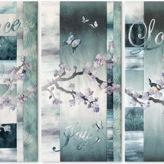 McKenna Ryan - Peace Joy Love Complete Pattern Set
