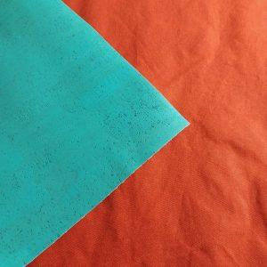 Medium-weight Waxed Cotton Canvas – Burnt Orange
