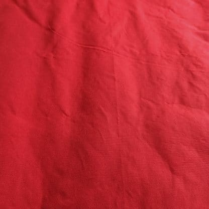 10oz. Waxed Cotton Canvas – Hot Rod Red