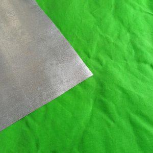 10oz. Waxed Cotton Canvas – Lime Green