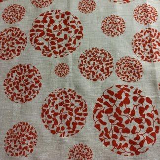 Seed Circles In Desert Days – Femke Textiles