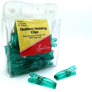 Sew Easy Quilting Clips Large – 36 pack