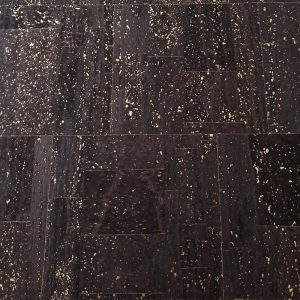 Brown with Gold – Cork Fabric