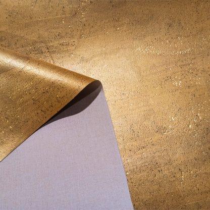 Antique Gold – Cork Fabric