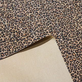Leopard Print – Cork Fabric