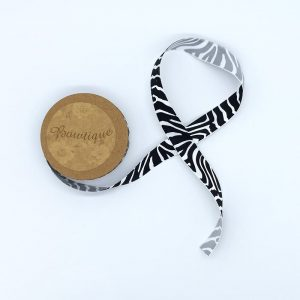 Zebra Ribbon Satin – Bowtique