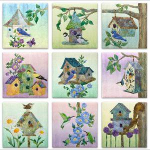 Home Tweet Home – Complete Pattern Set