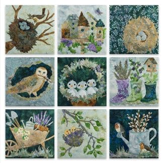 Nesting Collection - Complete Set of Applique Patterns